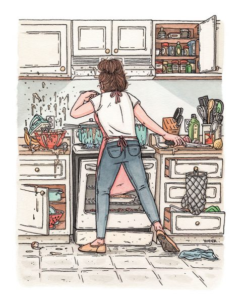 Katherine In The Kitchen