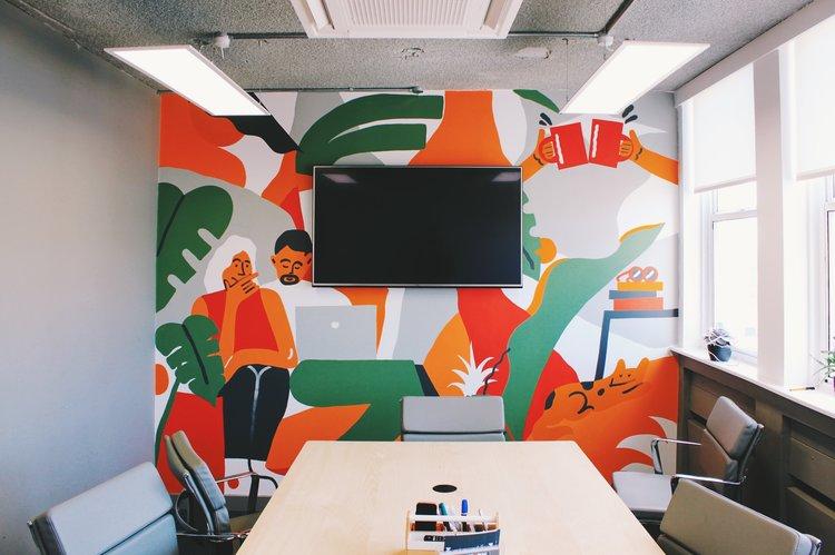 Platf9rm Mural