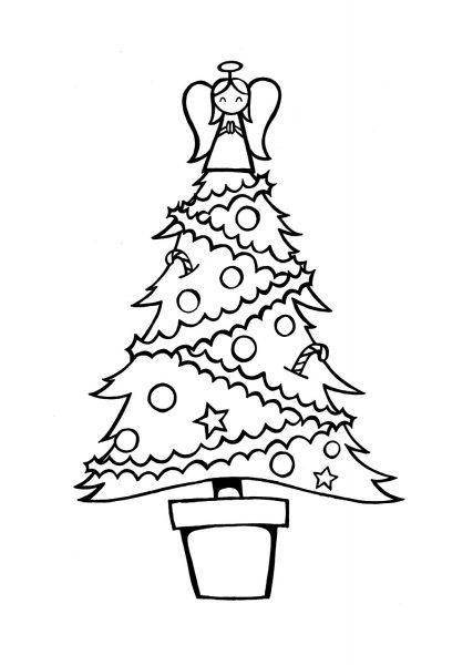 Christmas Tree : Stamp Design