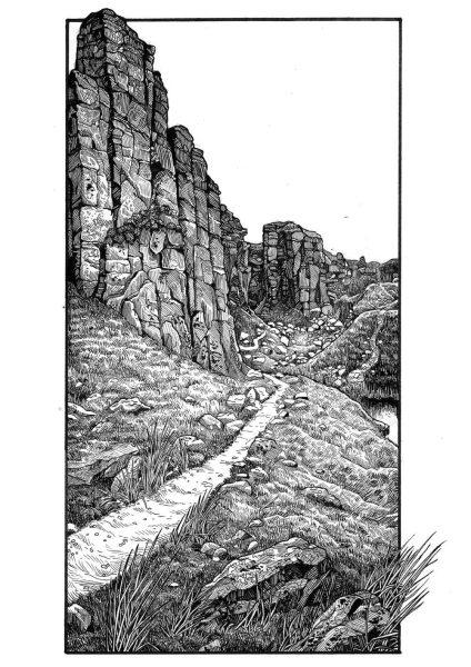 Among stone and earth