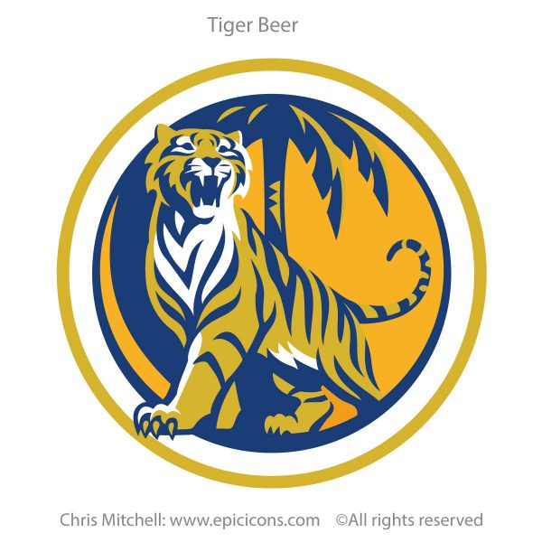 Tiger Beer Icon