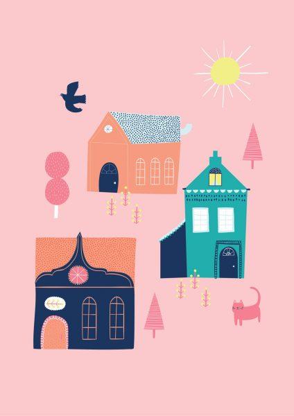 Village_Buildings_Landscape_Birds_Sweet_Picture-Book_Alice-Potter_2017