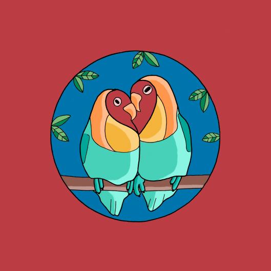 Love-Heart-Birds