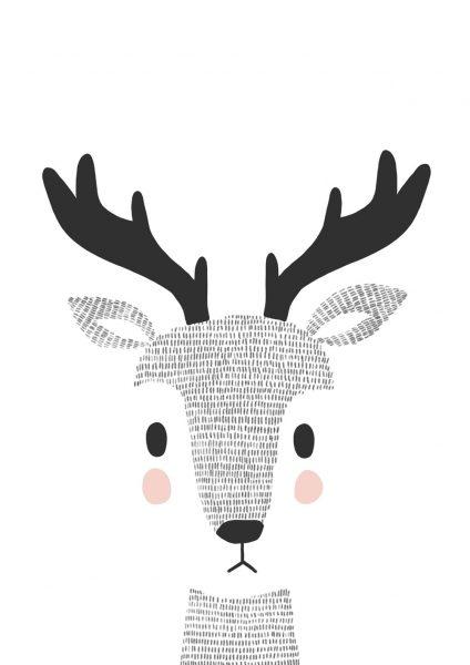 Woodland-Doodle-Deer_A4_Alice-Potter_2017