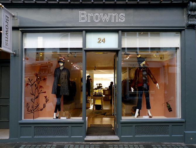 Browns Fashion Window