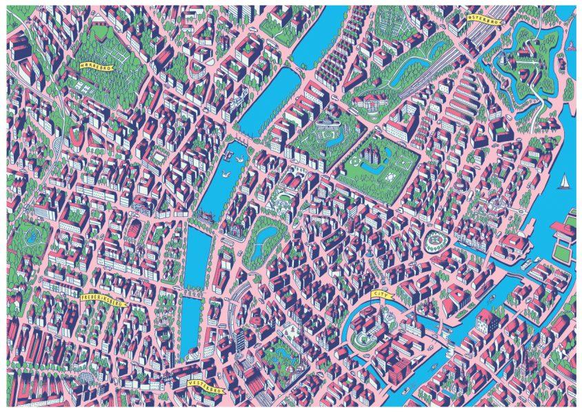 copenhagen map citi60