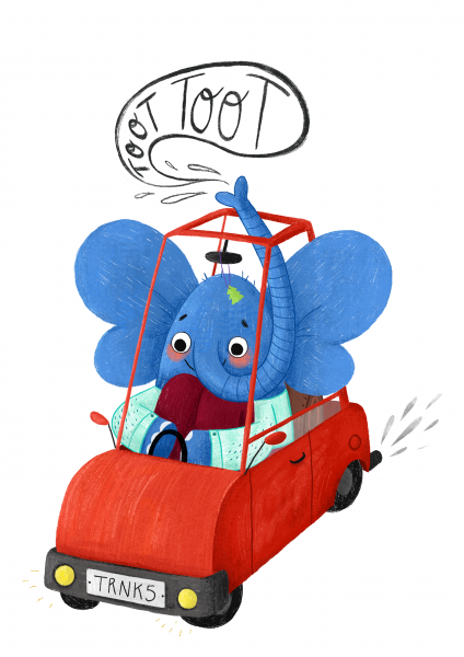 Animals on the Move - Elephant