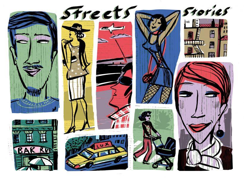 illustra STREET STORY x AOI