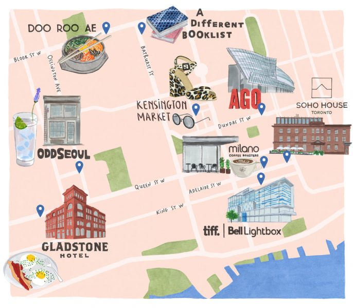 Toronto Map - Soho House Magazine