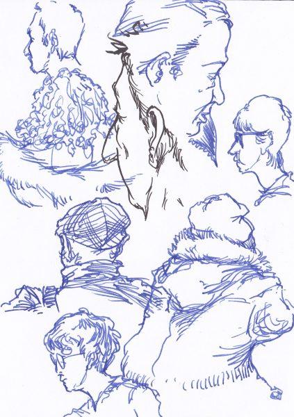 Reportage Sketching