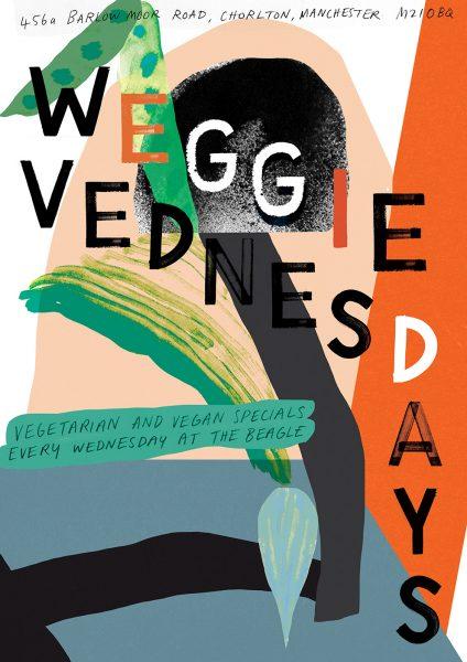 Veggie Wednesdays Poster