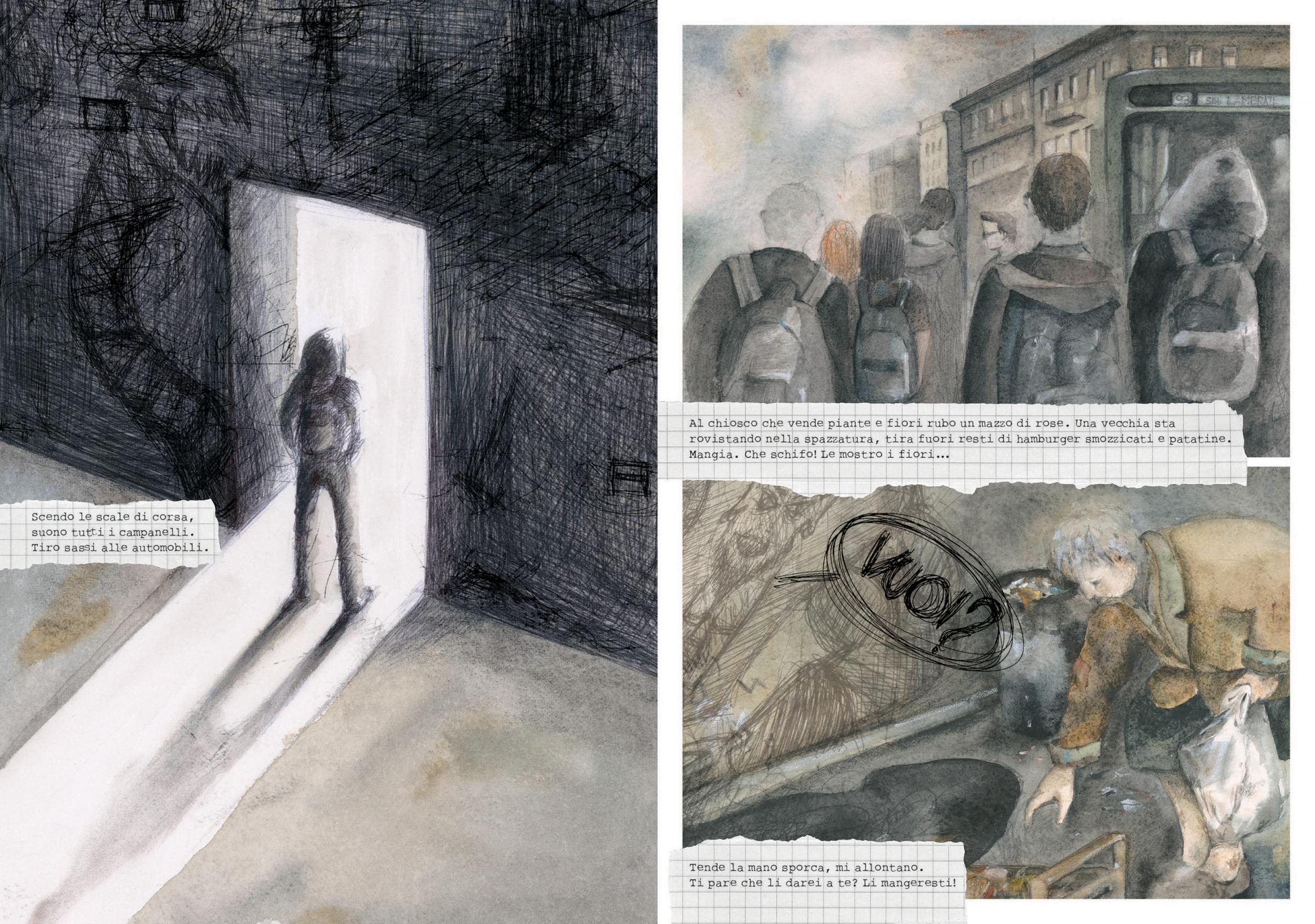 Campanelli Fiori.Michela Baso Nel Buio World Illustration Awards