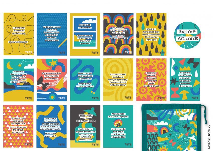 Art-cards-postcards-Tate-St-Ives-Headstart-Kernow-Melanie-Chadwick-illustration