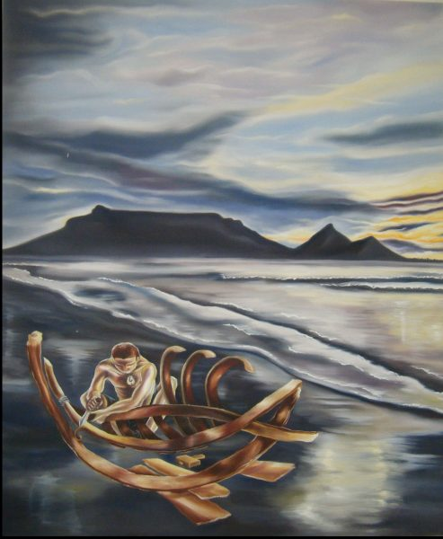 Boatman (oils)
