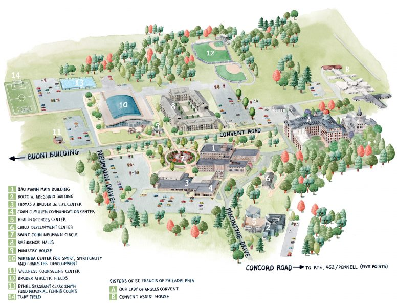 Site Map for Neumann University