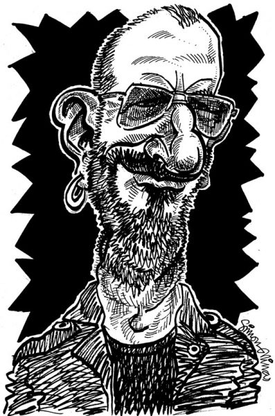 Caricature of Sir Ringo Starr
