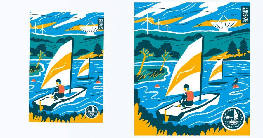 Childrens-sailing-trust-design-boat-illustration-melanie-chadwick