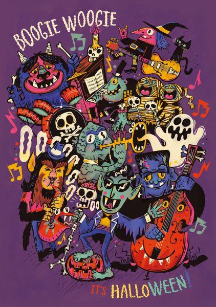 Boogie Woogie Halloween Band