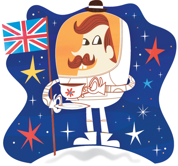 Chris Dickason British Astronaut
