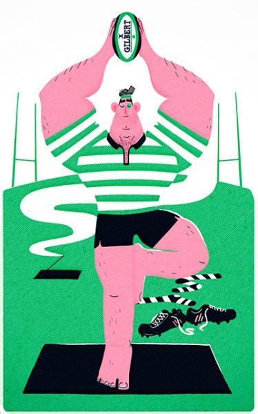 Chris Dickason Rugby Yoga