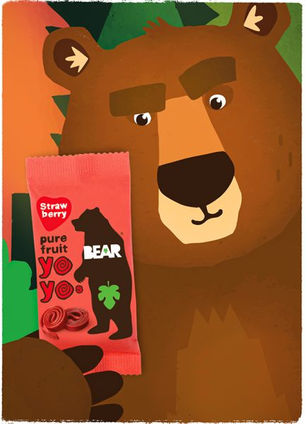 BEAR Mascot and brand world by Chris Dickason