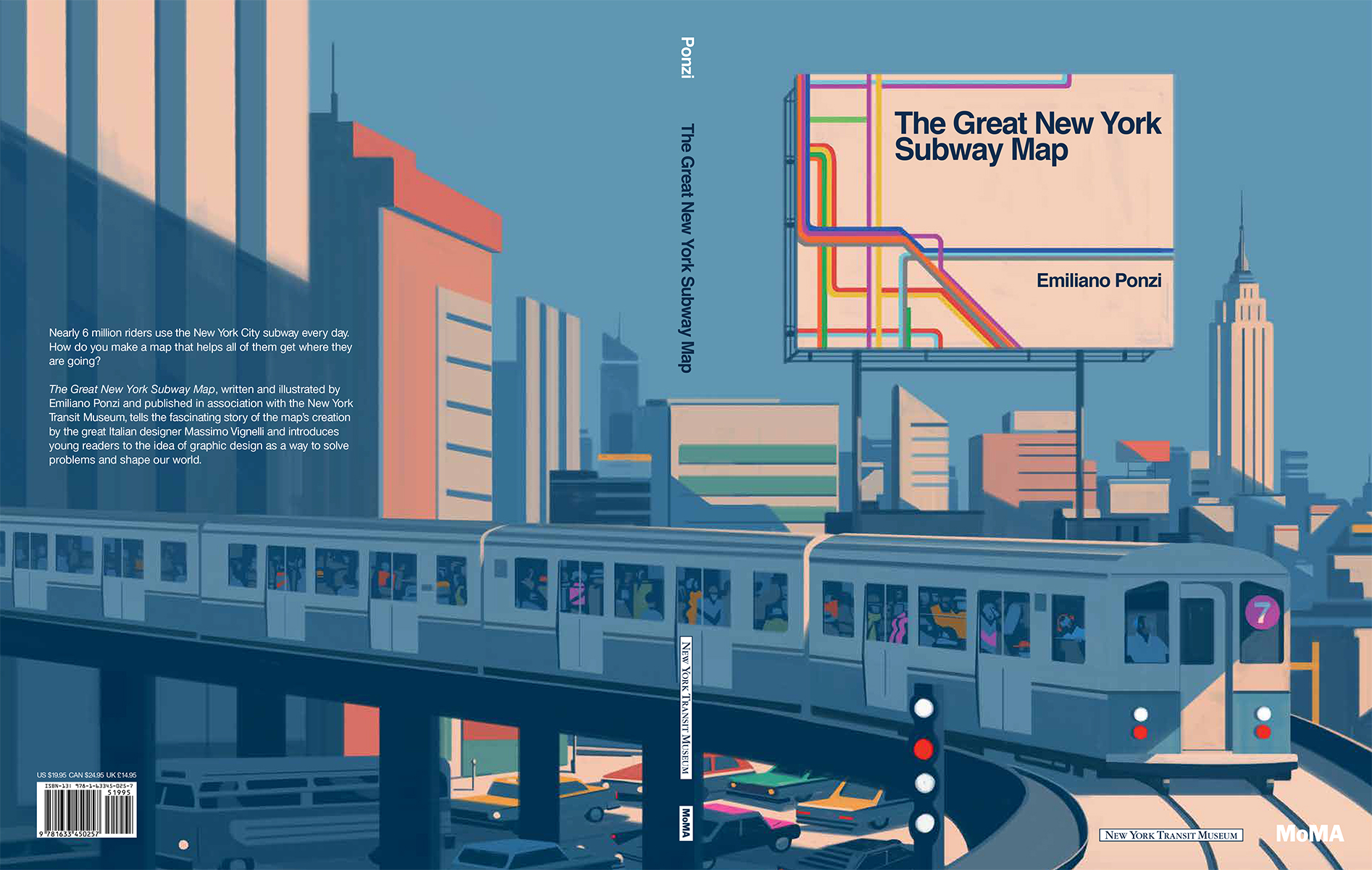 New York City Subway Map Design.Emiliano Ponzi The Aoi
