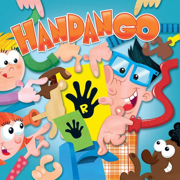 Handango board game box front
