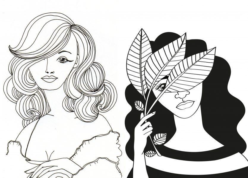 Inktober Women