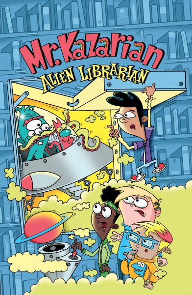 Mr Kazarian Alien Librarian