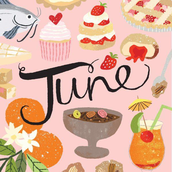 June Foodimentary Book