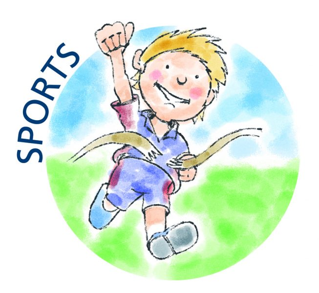 School Sport iIllustrations