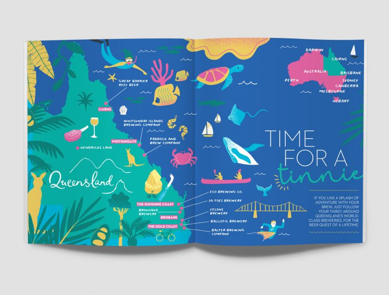 Queensland Map Melanie Chadwick