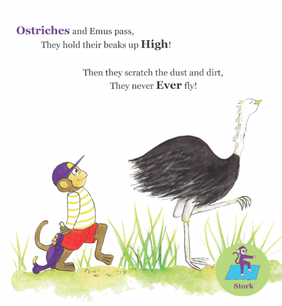 Ostriches and Emus..