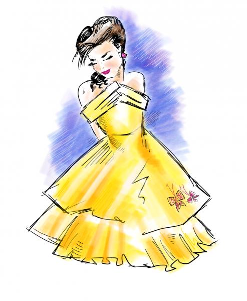 Fashion Sketch 2