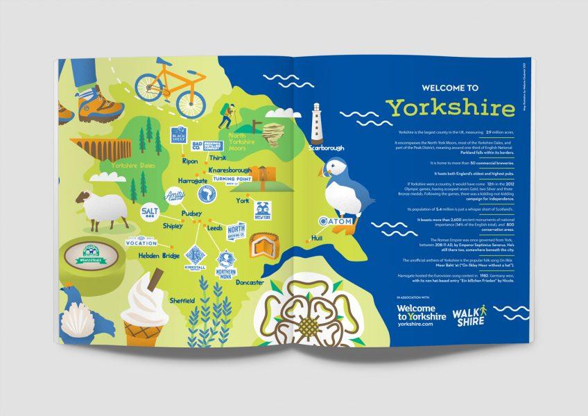 Illustrated Yorkshire map-melanie-Chadwick Ferment Magazine