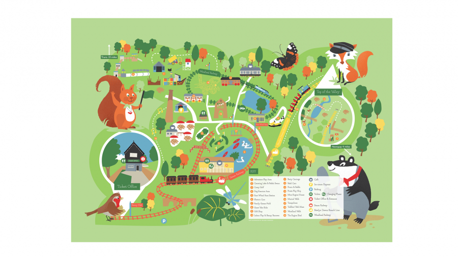 lappa valley map