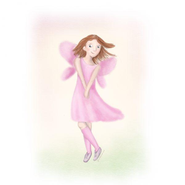 A shy fairy
