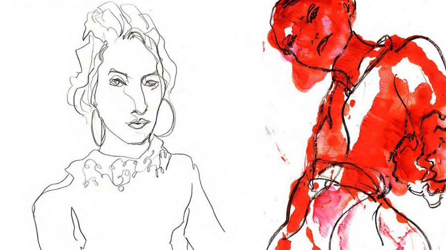 Editorial Fashion Illustration Womenswear