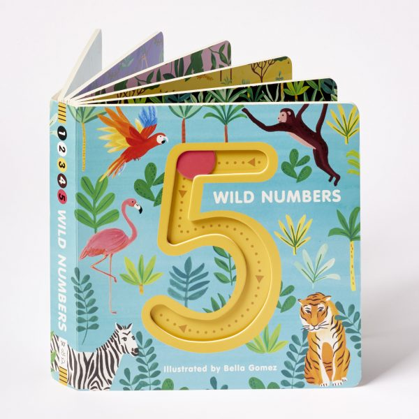5 Wild Numbers Children's Book