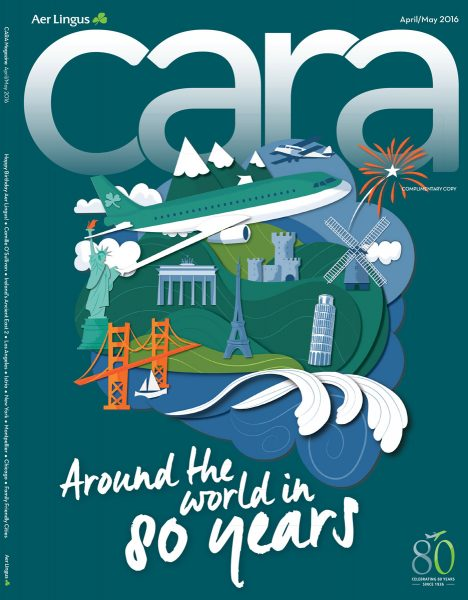 Cara Magazine (Aer Lingus) Cover by Jennifer Farley