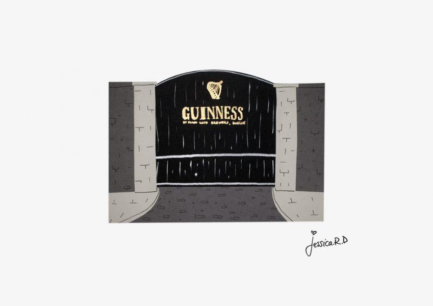Guinness gate - Dublin