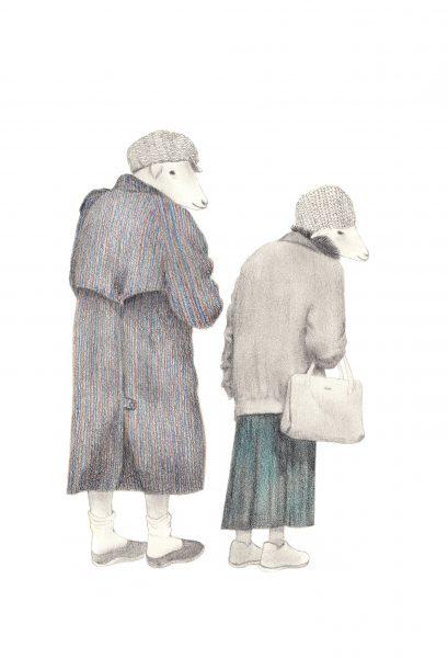 old ladies in paris