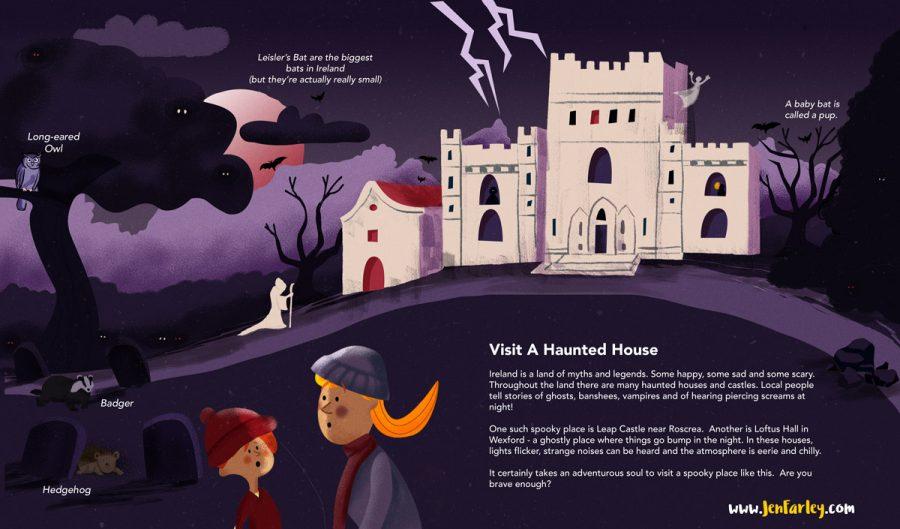 Island of Adventures - Haunted House Jennifer Farley
