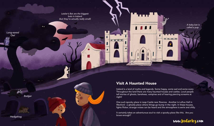 Island of Adventures - Haunted House Jennifer Farley