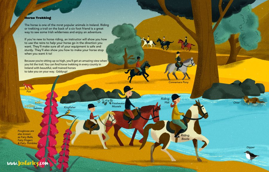 Island of Adventures - Horse Trekking Jennifer Farley
