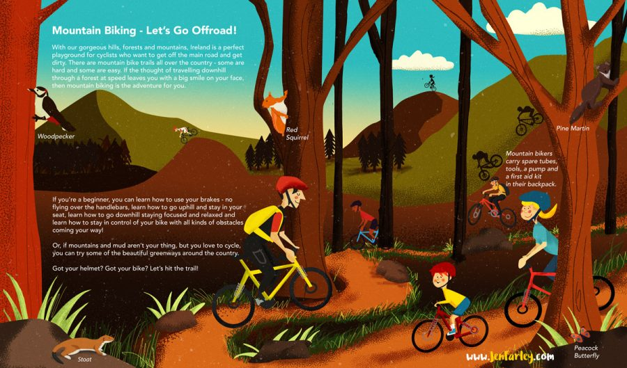 Island of Adventures - Mountain Biking Jennifer Farley