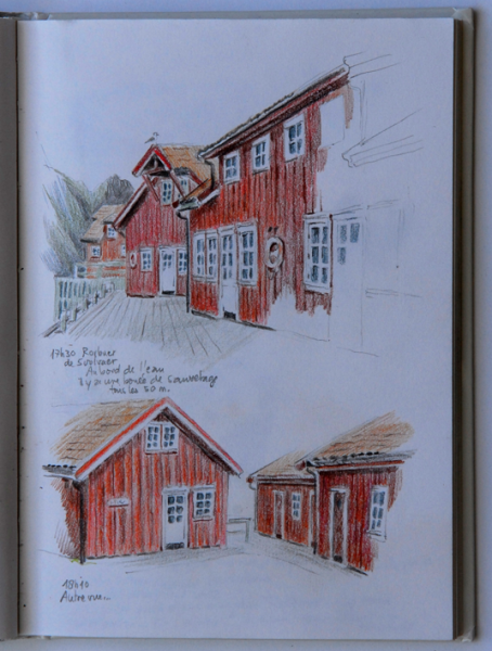 LTravel sketch on the Lofoten islands, Norway
