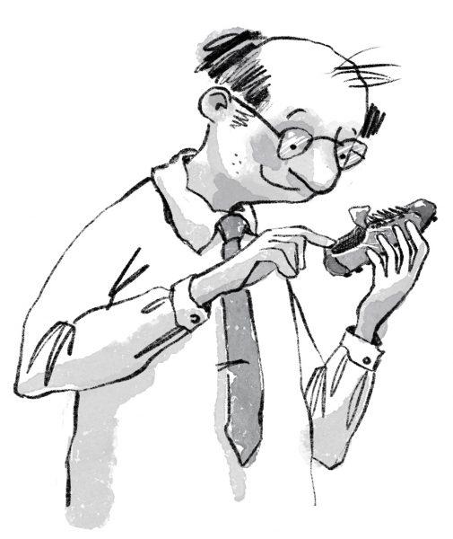Teacher and a shoe