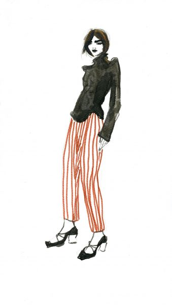 Fashion illustration for Danis fashion brand