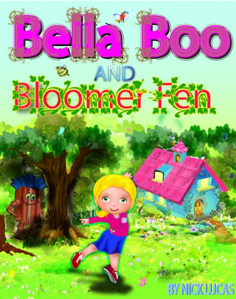 Cover to children book